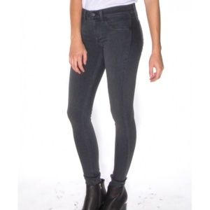 Rag & bone Charcoal gray premier leggings jeans